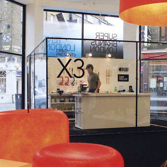 X3 at Super Brands London