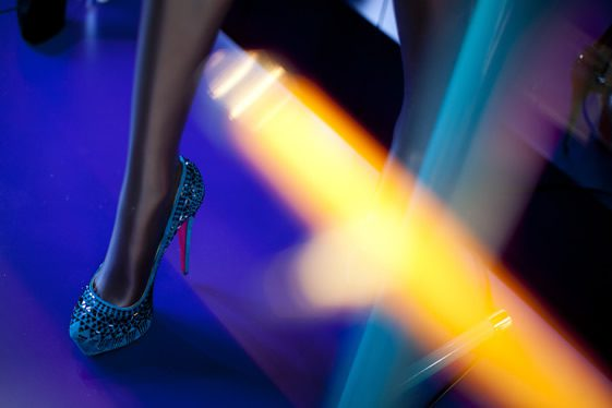 Louboutin's X-Ray Windows