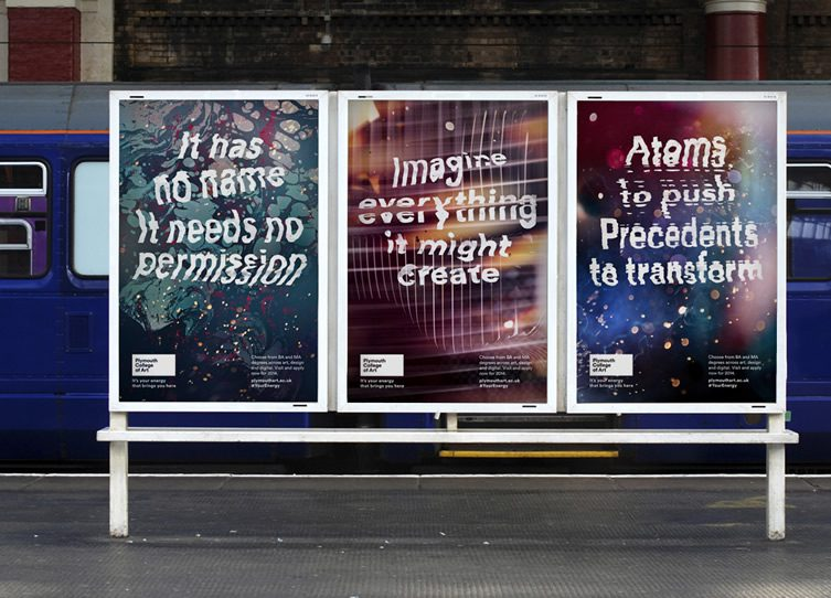 YCN Studio — Plymouth College of Art Campaign