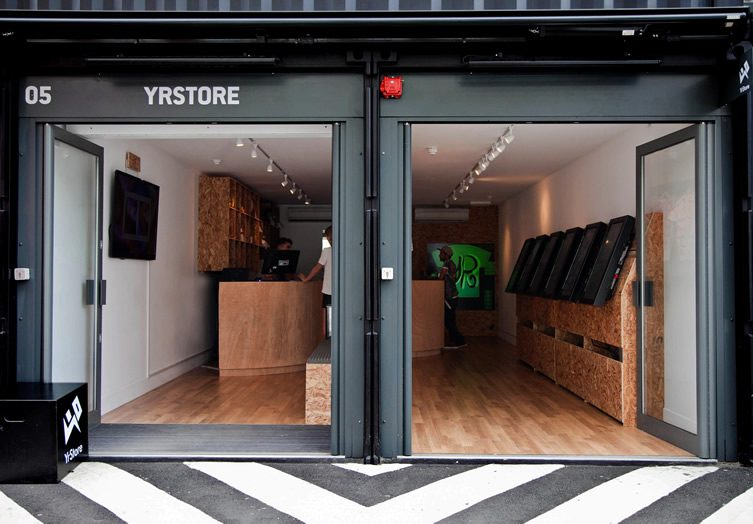 Yr Store — Boxpark, Shoreditch