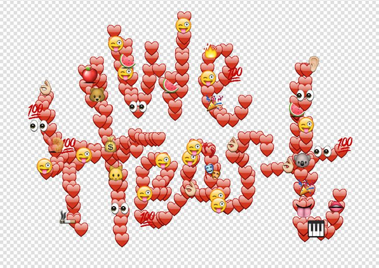 Emoji art by yung jake for Emoji ink