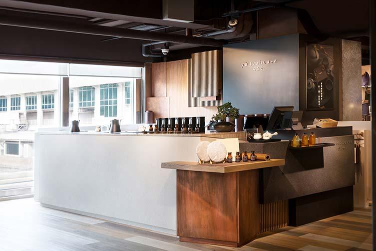 Yú Teahouse Hong Kong Café Design by Studio Adjective, Eslite Spectrum in Tsim Sha Tsui