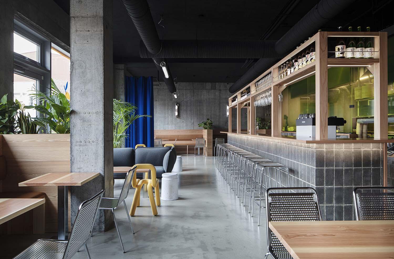 Yuzu Reykjavík, Hverfisgata Burger Restaurant Designed by HAF STUDIO