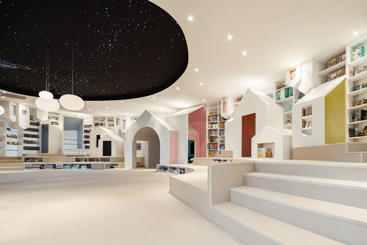 Zhongshu Bookstore, Suzhou by Wutopia Lab Design Studio